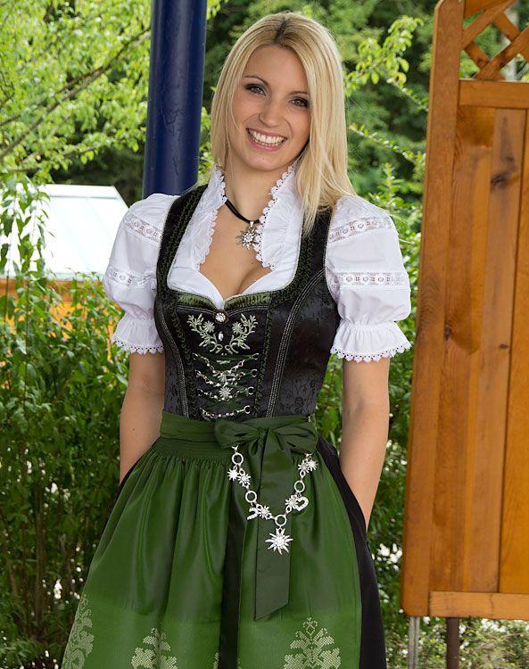 """""""Olbernhau"""" dirndl + apron 80cm - Bild vergrößern"""