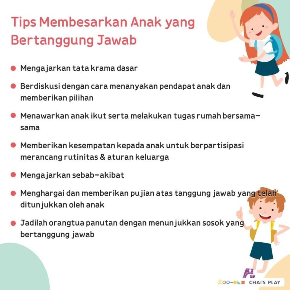 Tips Membesarkan Anak Yang Penuh Tanggung Jawab Parentingtips Parenting Respect Tanggungjawab Pen Membesarkan Anak Psikologi Perkembangan Pertumbuhan Anak