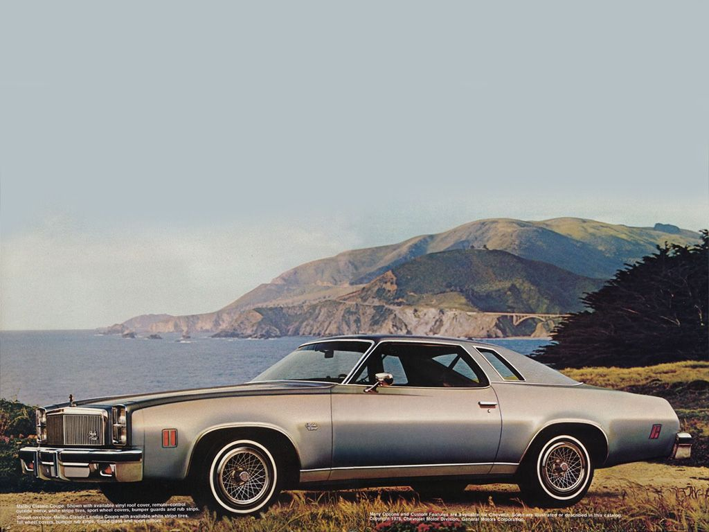 1977 Chevrolet brochure. Malibu Classic | Chevelles, Malibus, and ...