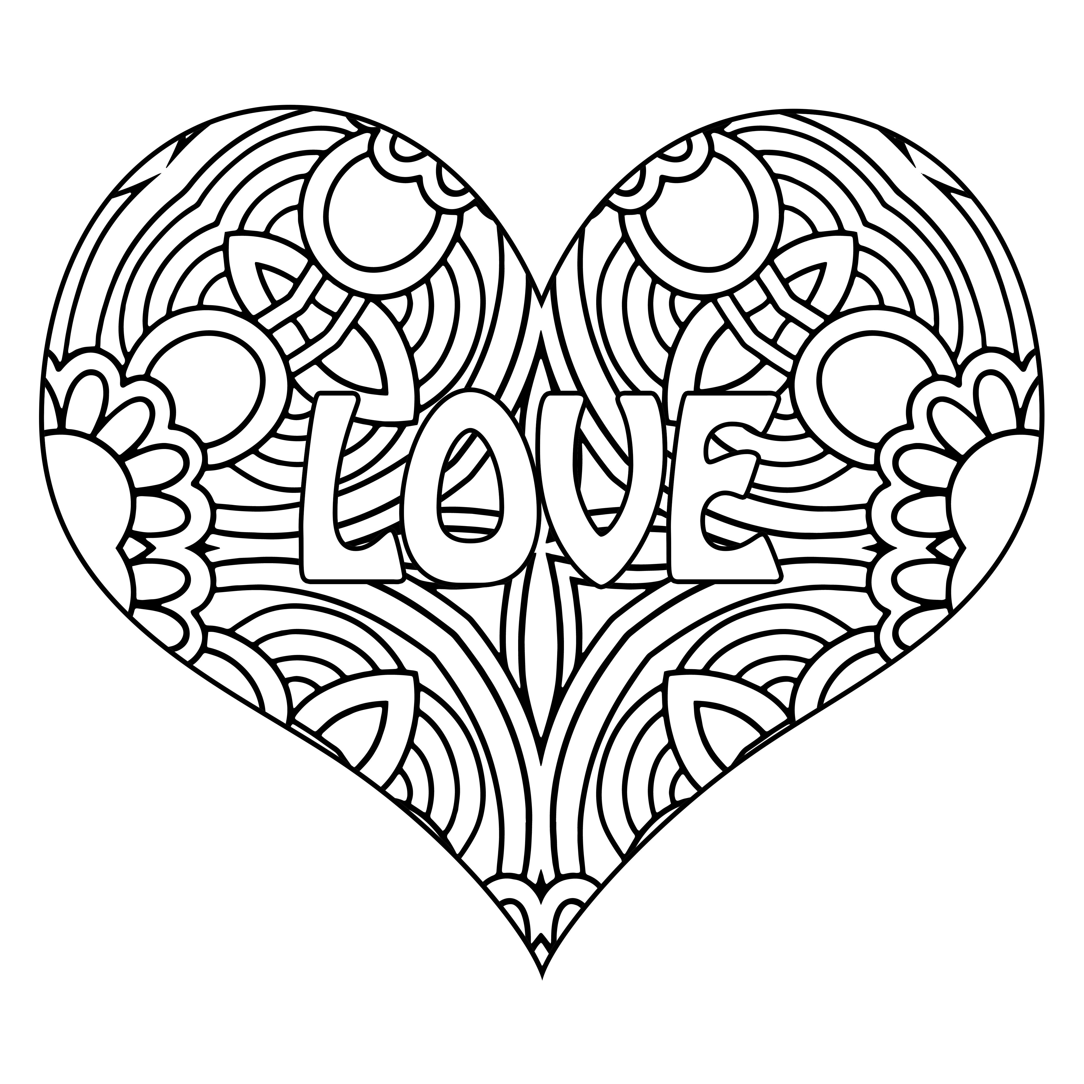 Valentines Day Coloring Books For Adults