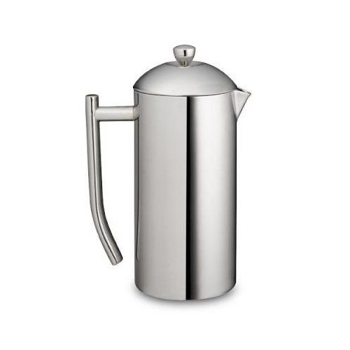 Frieling French Press Ultimo 17oz  Insulated Stainless Steel Mirror Finish Coffee Press 17Oz -- For more information, visit image link.