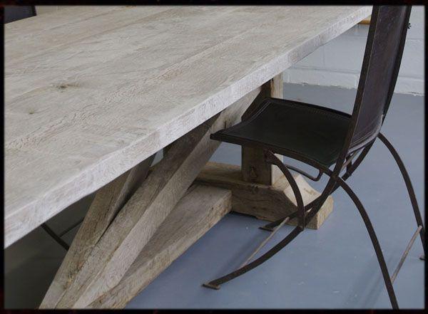 Large Oak Dining Table In Weathered Grey Oak No Dyes Malvini Com Shop Oak Dining Table Large Oak Dining Tables Large Dining Table