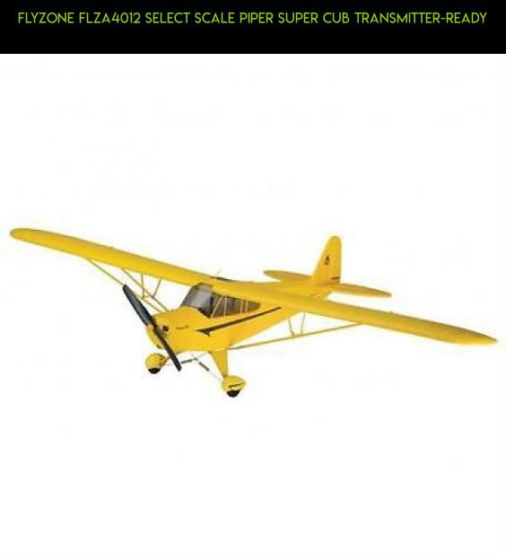 Flyzone FLZA4012 Select Scale Piper Super Cub Transmitter-Ready