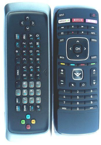 New! Original VIZIO XRT300 Qwerty keyboard remote for