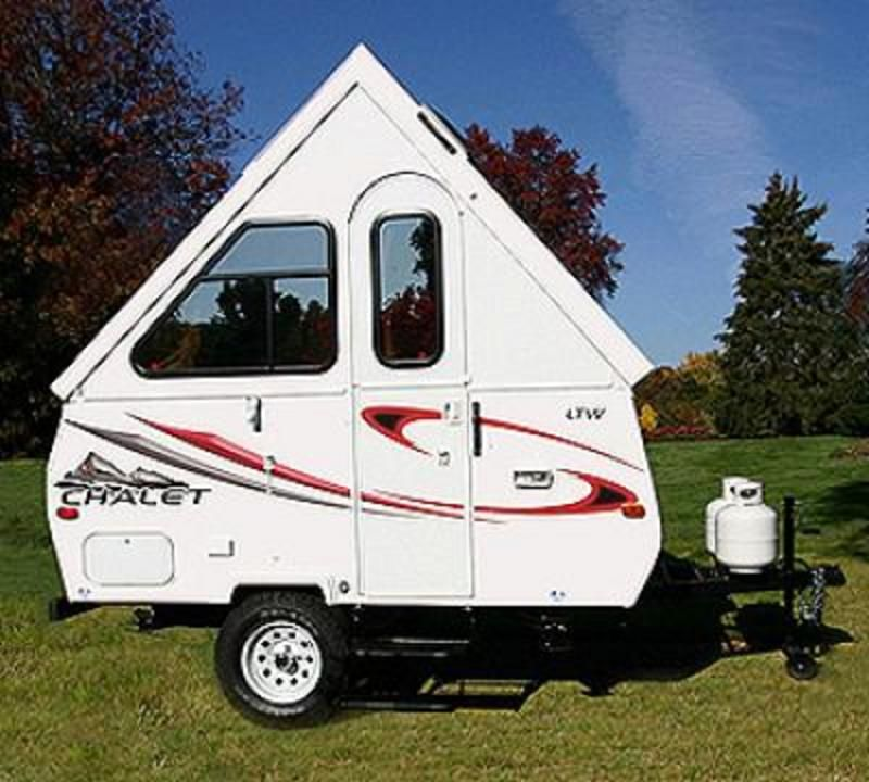 The Chalet camper/trailer. | Crazy and Inspired Campers and Trailers ...