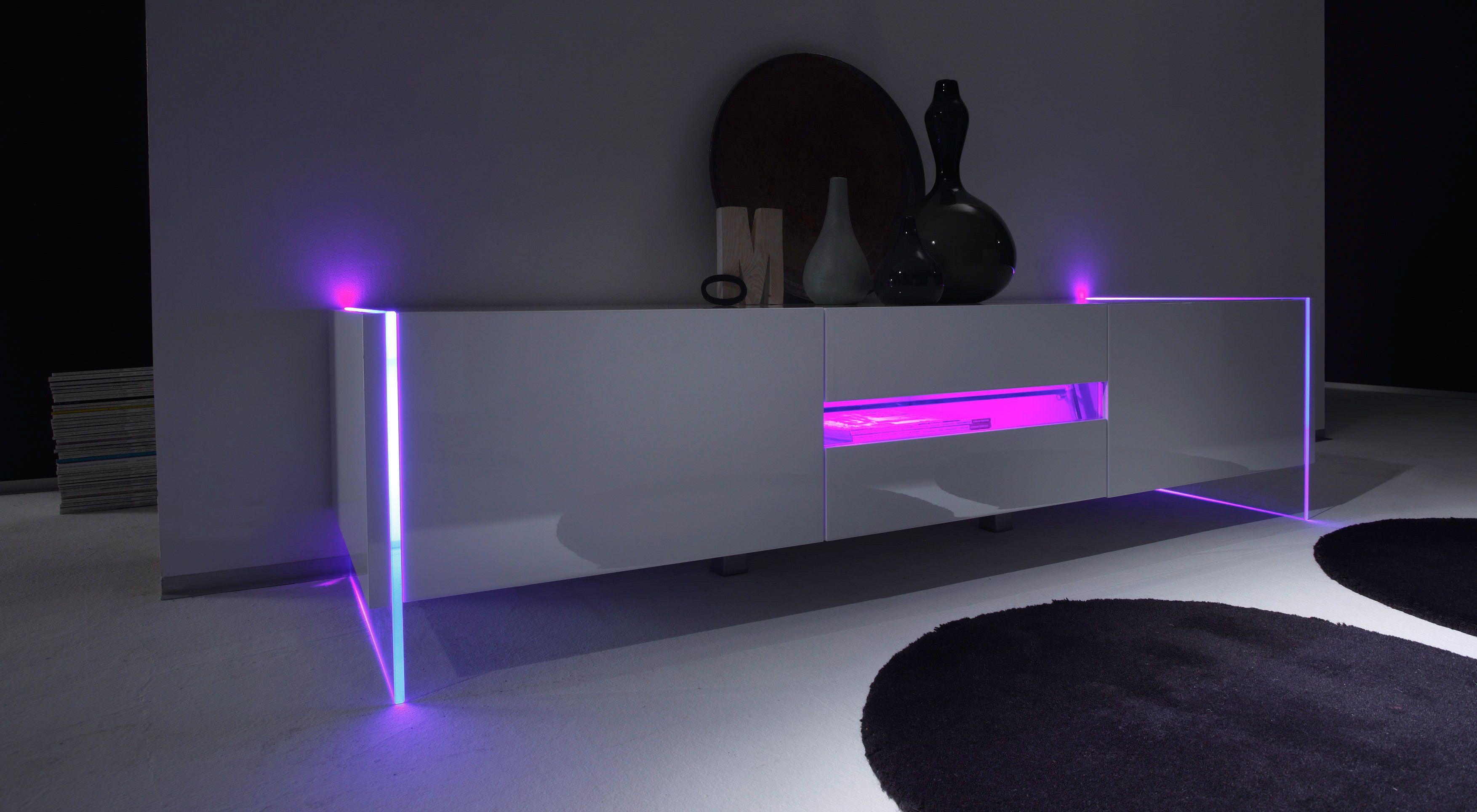 Sideboard weiß hochglanz design  Best 25+ Lowboard hochglanz weiß ideas on Pinterest | Tv wand ...