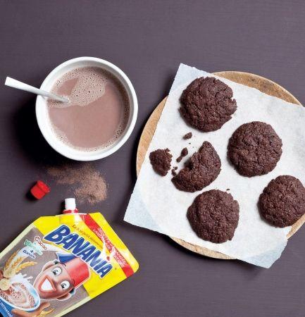 Recette cookies au banania par La : Une recette proposée par banania..Ingrédients : cacao, cannelle