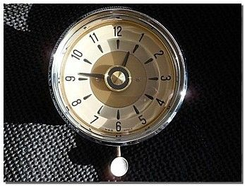 wonderful vdo kienzle dash clock that can be used in a
