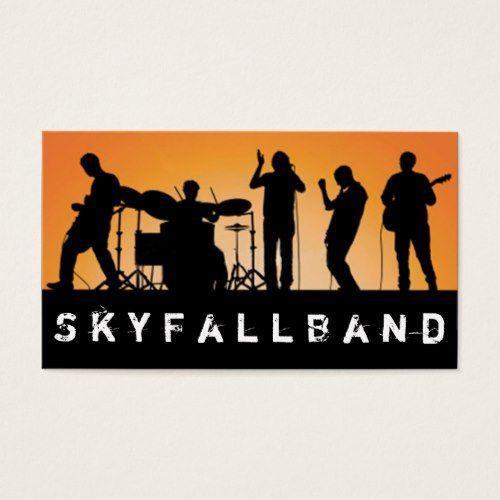 Band rock singers performance entertainment business card band rock singers performance entertainment business card colourmoves