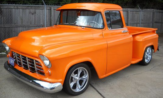 I Love Old Trucks And Orange Random Things That Are Awesome