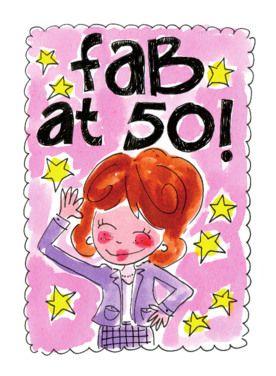 Verbazingwekkend Fab at 50! (vrouw) - Blond Amsterdam | Verjaardagsfoto's WY-56