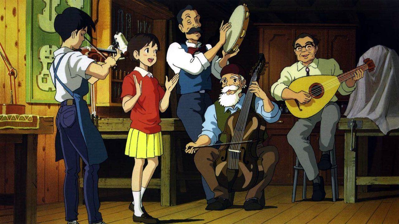 whisper of the heart Bellchans Anime Wallpaper