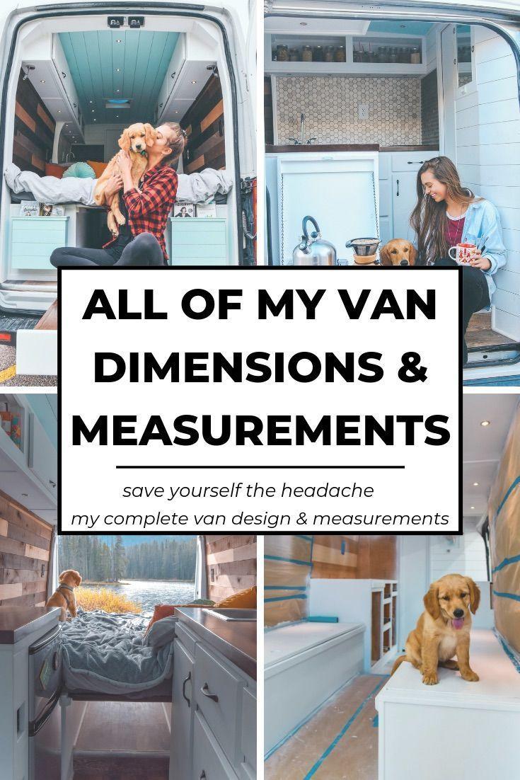 My Van Dimensions & Complete Design | Divine On The road