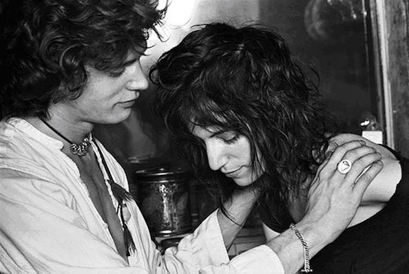 Norman Seeff Patti Smith and Robert Mapplethorpe. New York City (1969)