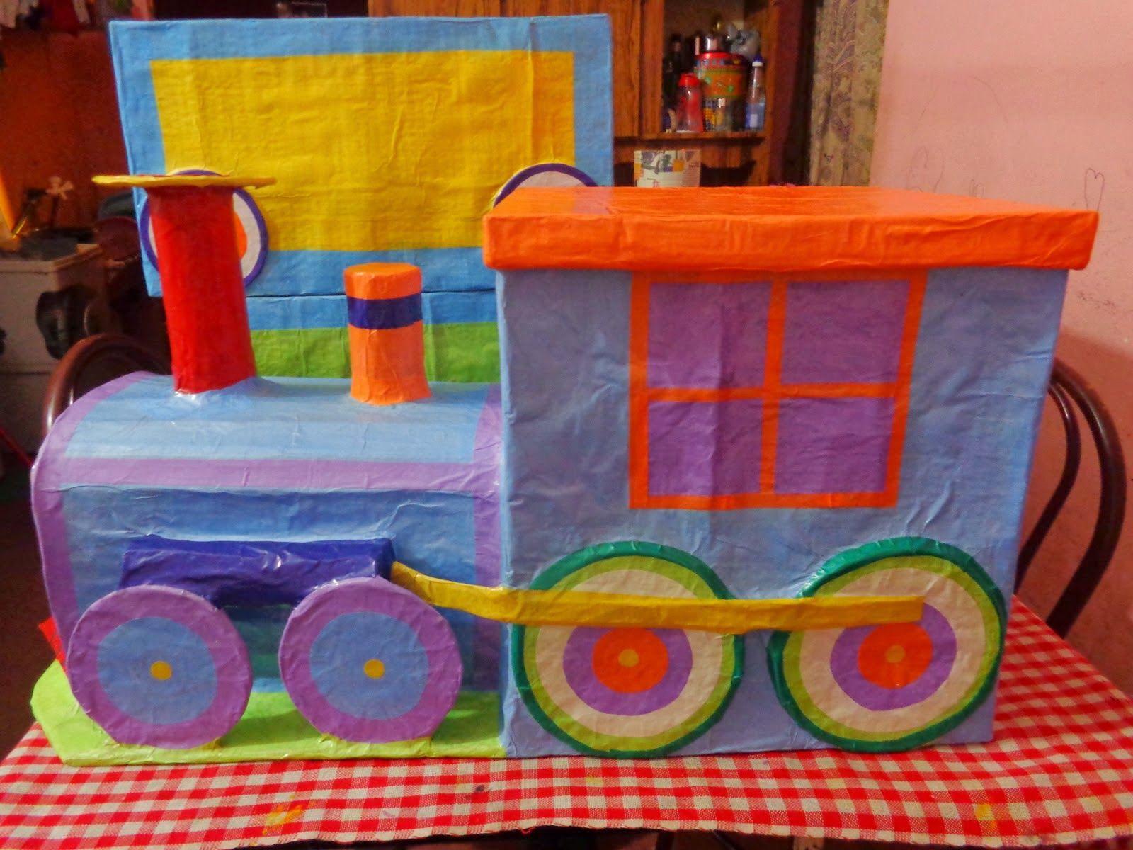 17 mejores ideas sobre Tren De Cartón en Pinterest | Fiesta de ...