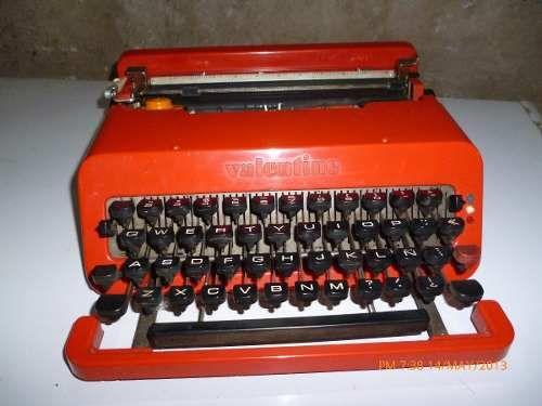 Maquina De Escribir Valentine(1969) 450 mercado libre ar