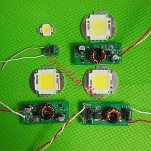 Details About 10w 20w 30w 50w High Power Led Chip Cool Warm White Royal Blue 12v Led Driver Power Led Led Drivers 12v Led