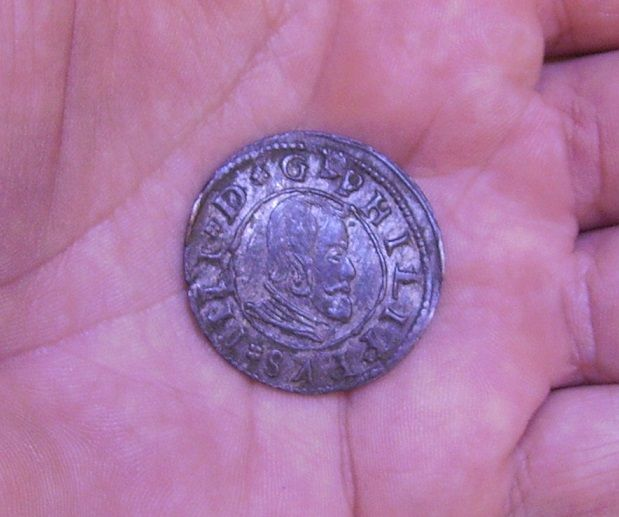 16 Maravedis 1663 Madrid