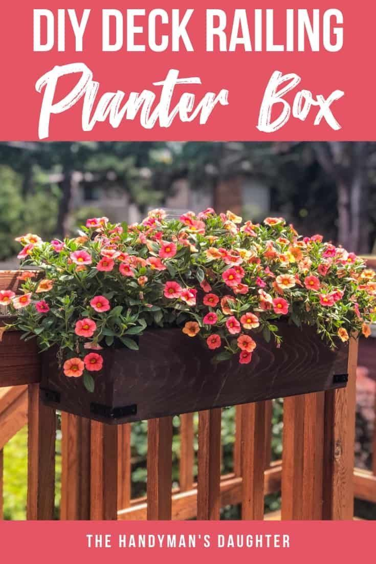 Diy Railing Planters For Your Deck Or Balcony Railing 400 x 300