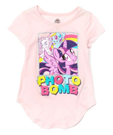 Love this My Little Pony 'Photo Bomb' Swing Tee - Girls by My Little Pony on #zulily! #zulilyfinds