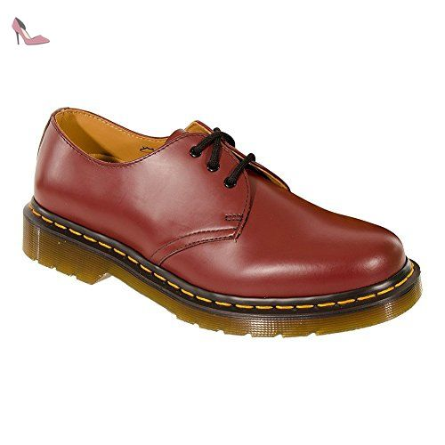 Dr. Martens 1461 PwSmooth, Chaussures a lacets mixte adulte- , 42 EU (8 UK)