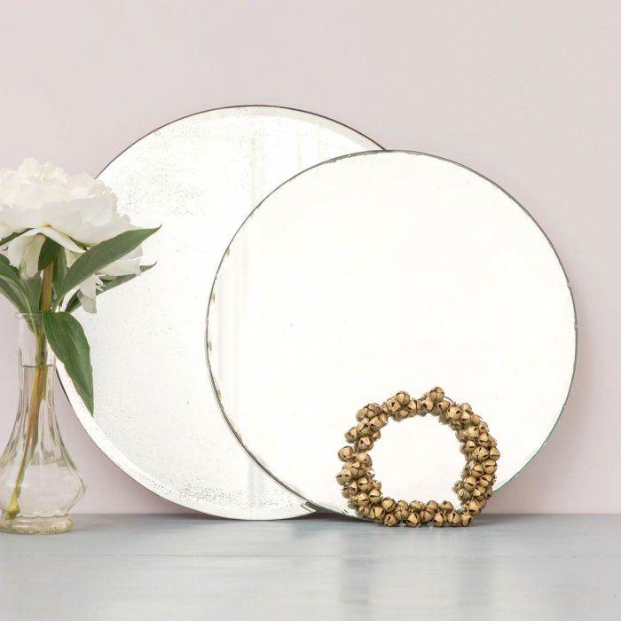 Miroir biseaut et cisel via goodmoods cadeau petite for Petit miroir deco