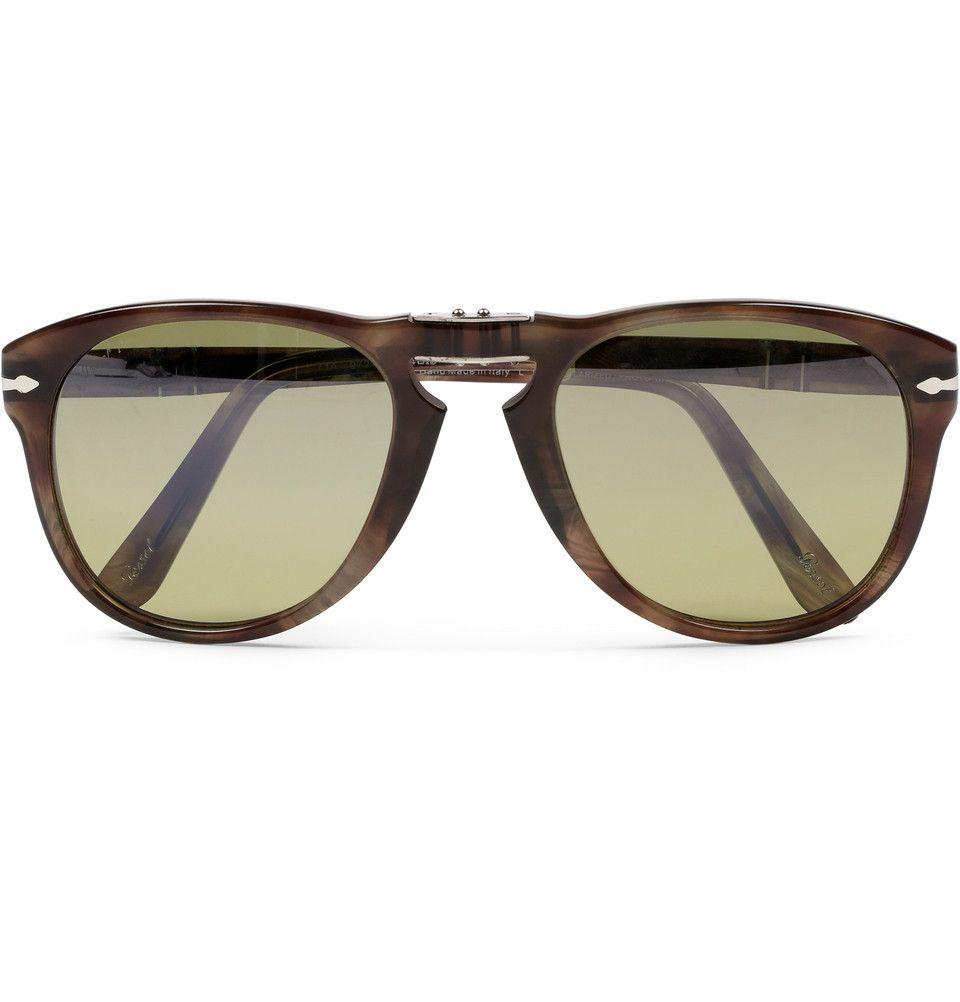 cd1bfac4bc Persol Foldable 714 Polarised Acetate Sunglasses