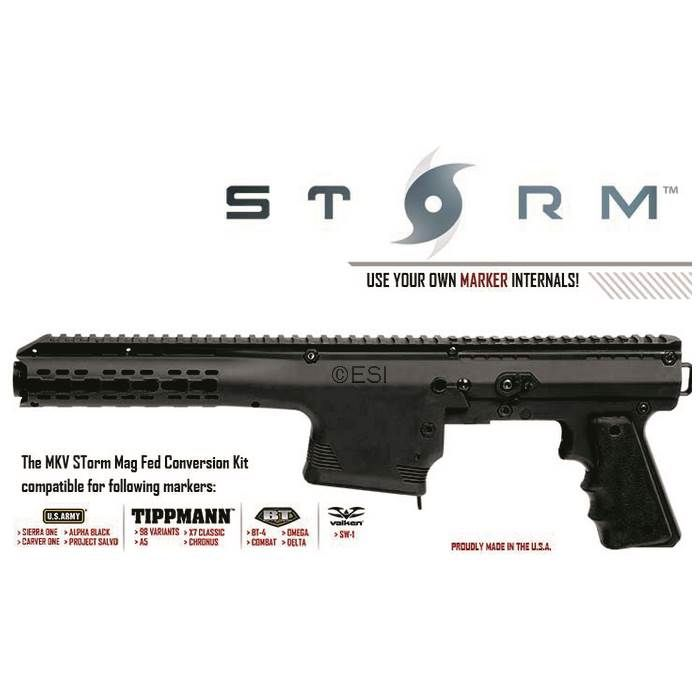 tacamo storm mag fed conversion kit for tippmann 98 paintball