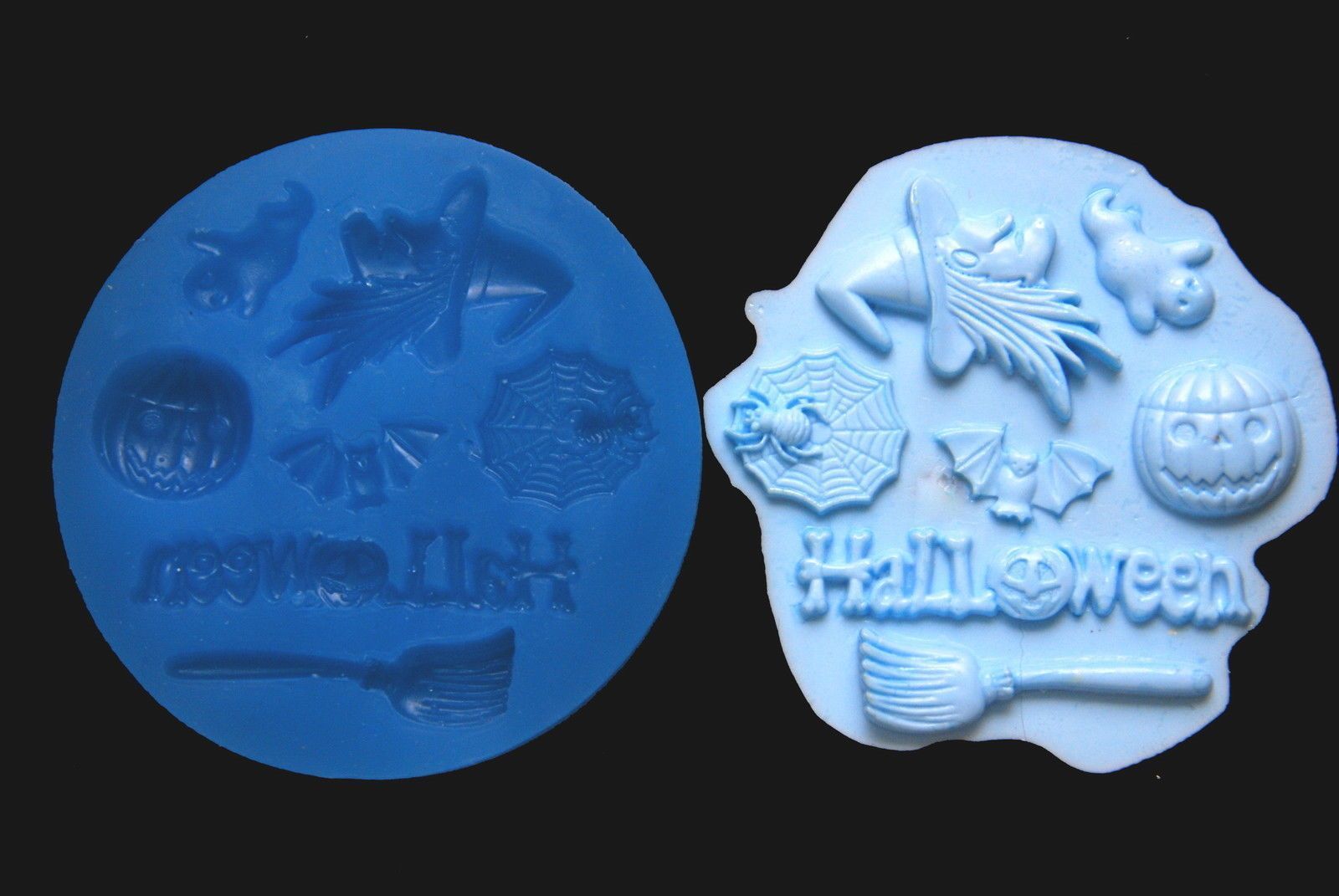 Sugarcraft Silicone Mold Sugarpaste Fondant Mould Chocolate Candy Mold Halloween