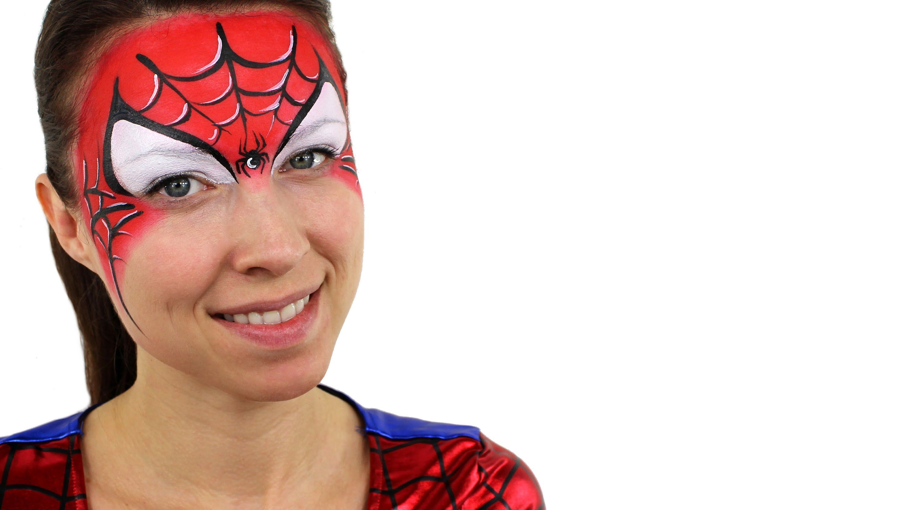 Spiderman butterfly face painting face painting videos spiderman butterfly face painting face painting videos pinterest butterfly face paint butterfly face and butterfly baditri Images