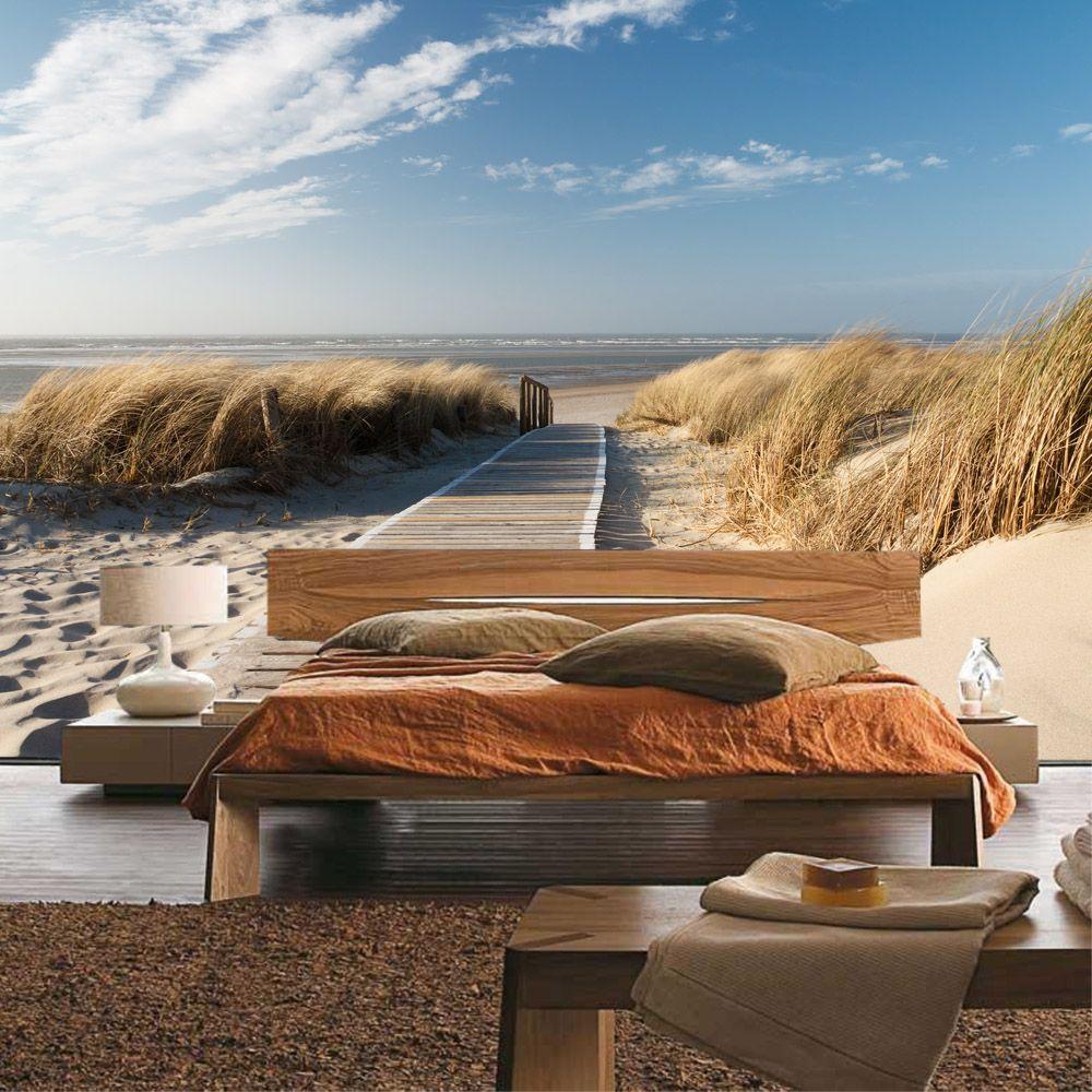 fototapete vlies strand langeoog nordsee d nen in den gr en 200x140cm 300x210cm 350x245. Black Bedroom Furniture Sets. Home Design Ideas
