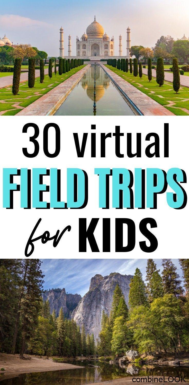 30 Virtual Field Trips for Kids#field #kids #trips #virtual