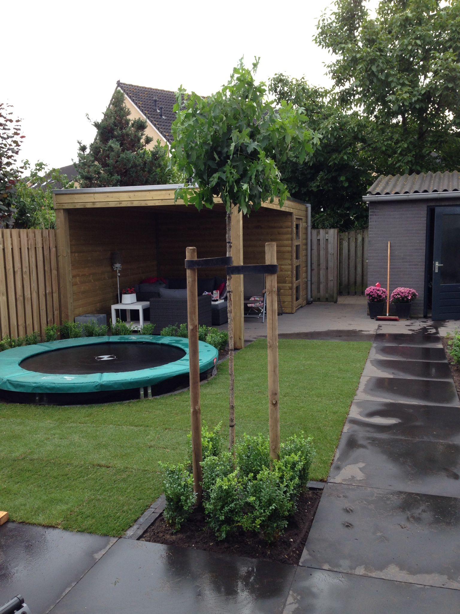 Kindvriendelijk achtertuin particulier project for Tuin ontwerpen ipad