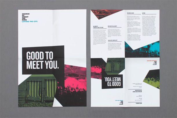Fenton Foreman Church Brochure Inspiration - Bulletins, Etc - pamphlet sample