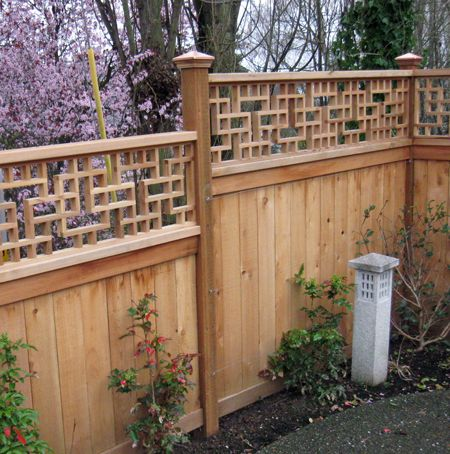 So much prettier than most fence toppers. | Fence design ...