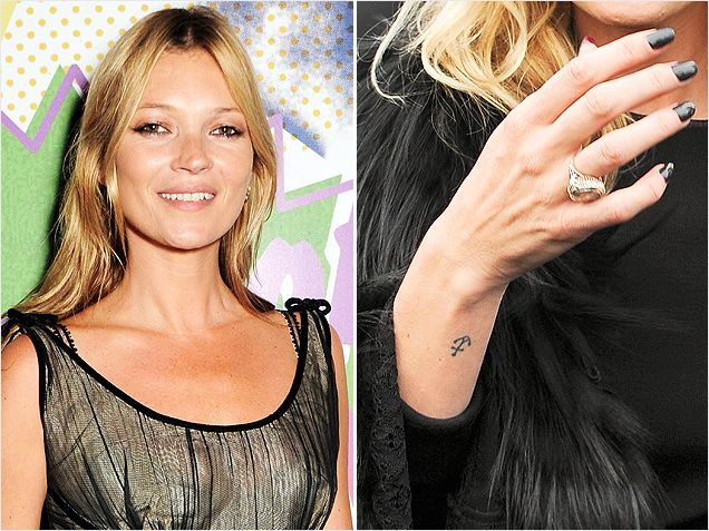 Style fashion trends beauty tips hairstyles celebrity for Kate moss tattoo