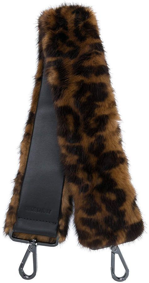 d8ec56b9c75 Max Mara Leopard Print Fur Shoulder Strap in 2018