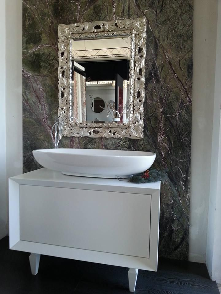 #раковинa #Ванная комната #Декоративнаяплитка #Шоурум # ...