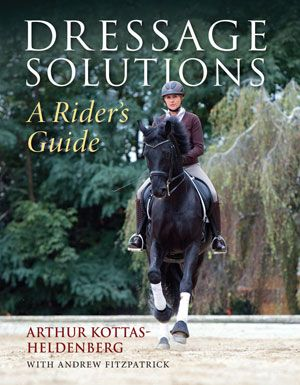 Just Arrived from Trafalgar Square Books and Arthur Kottas, the new book Dressage Solutions. Following the highly acclaimed Kottas on Dressage, Dressage Solutions takes the reader through many stages of training, from ensuring that the basic gaits are correct, through introducing the lateral exercises, developing the canter, rein-back, piaffe and passage. Available with FREE SHIPPPING here: http://bit.ly/1haqiWp