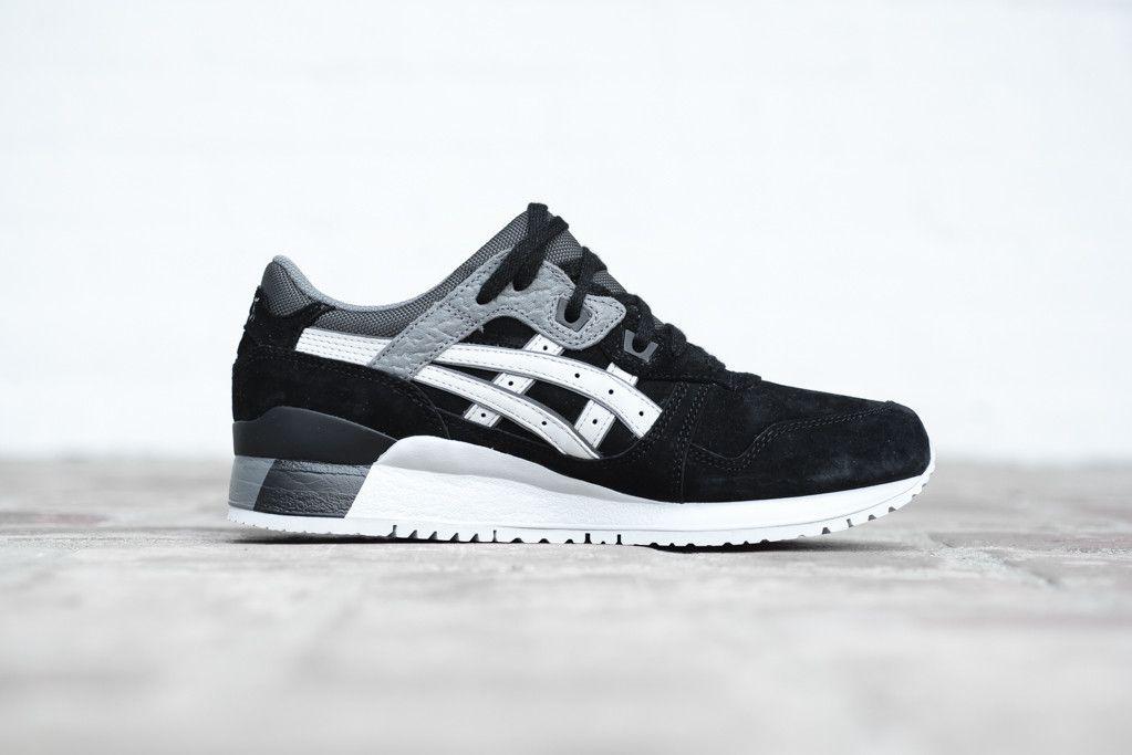 Asics Gel Lyte Iii Black Soft Grey Eu Kicks Sneaker Magazine Best Sneakers Asics Sneakers Asics