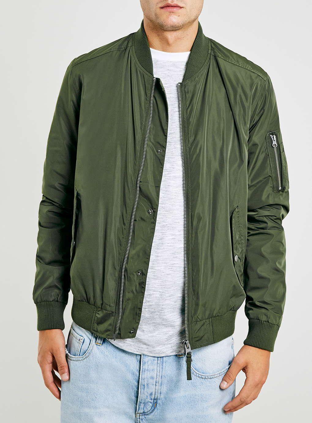Khaki Bomber Jacket Bomber jacket, Olive bomber jacket