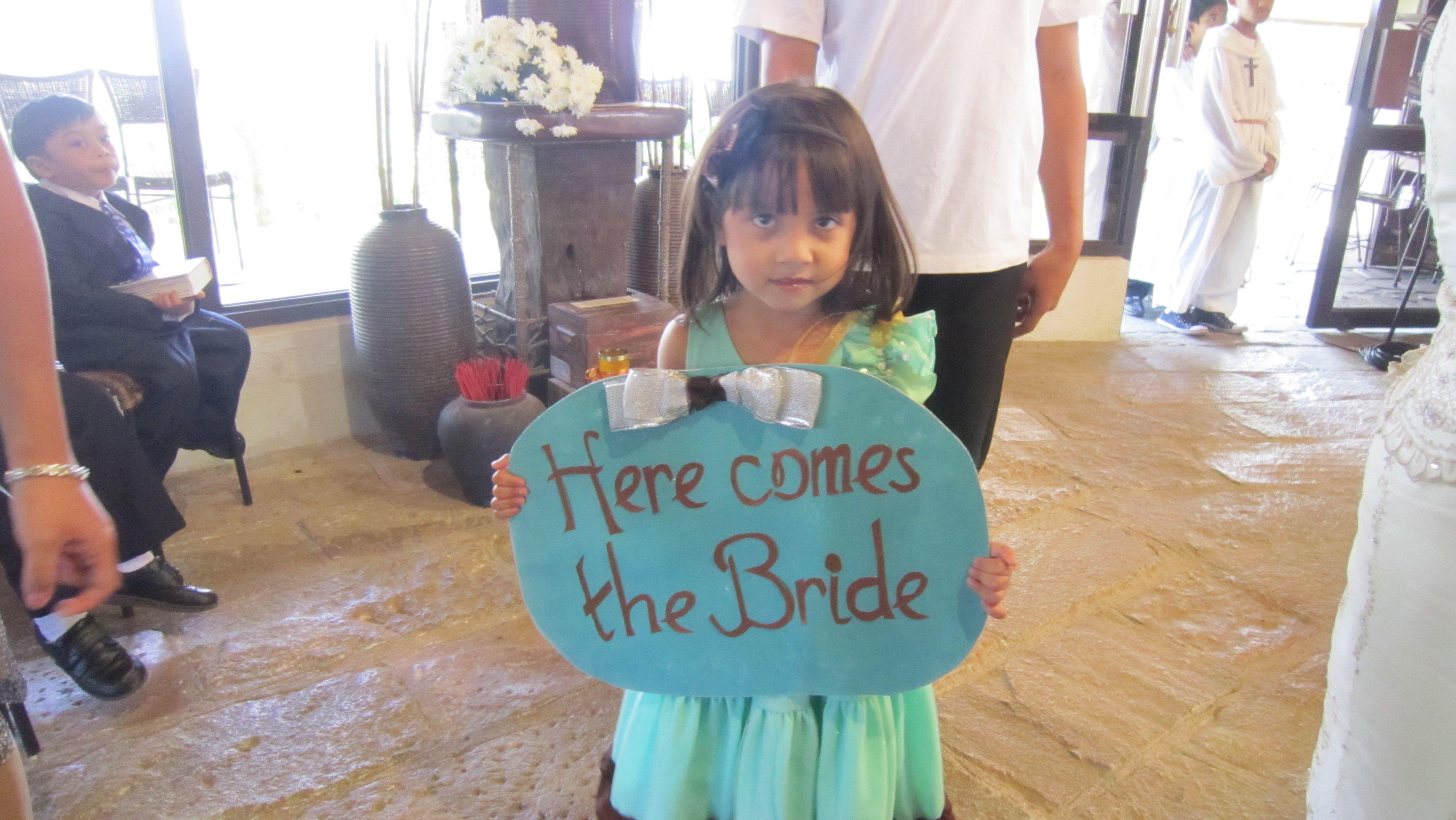 At Guia and Pau's wedding last February..cute idea