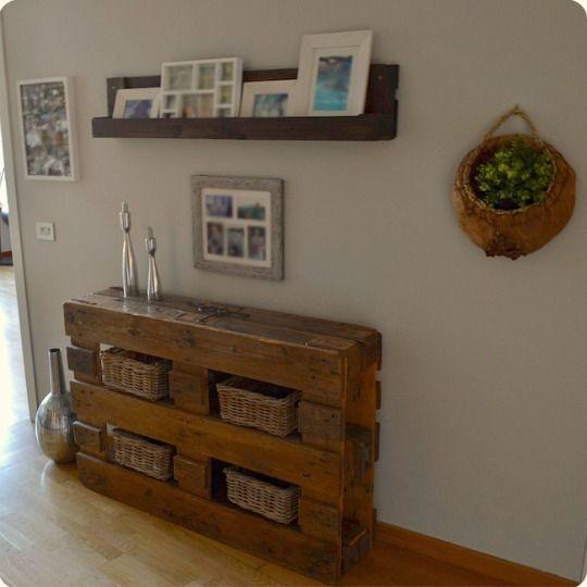 Paletos Muebles Reciclados Fabricados Con Palets Hoy Os Quiero - Muebles-palet