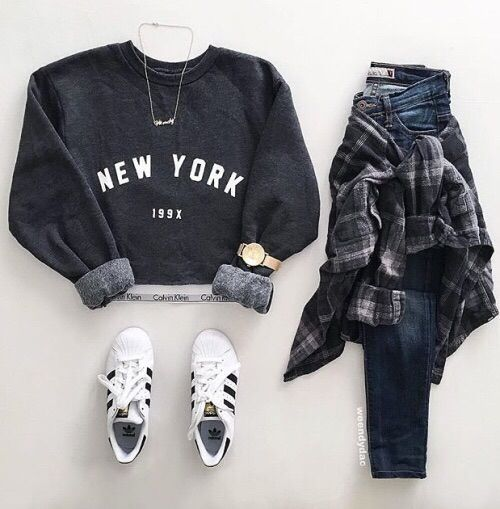 Teen fashion. Layout my outfit. Adidas shoes. Tumblr outfits  8b903eaf5