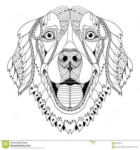 Раскраски антистресс Собаки и Щенки - распечатать в ...