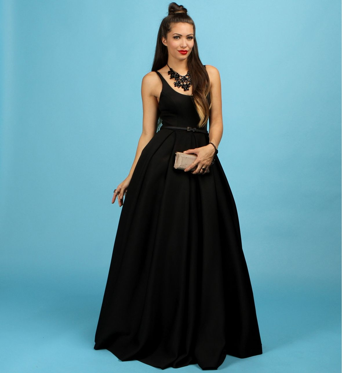 Camille- Black Scuba Formal Dress at WindsorStore | Prom? Prom ...