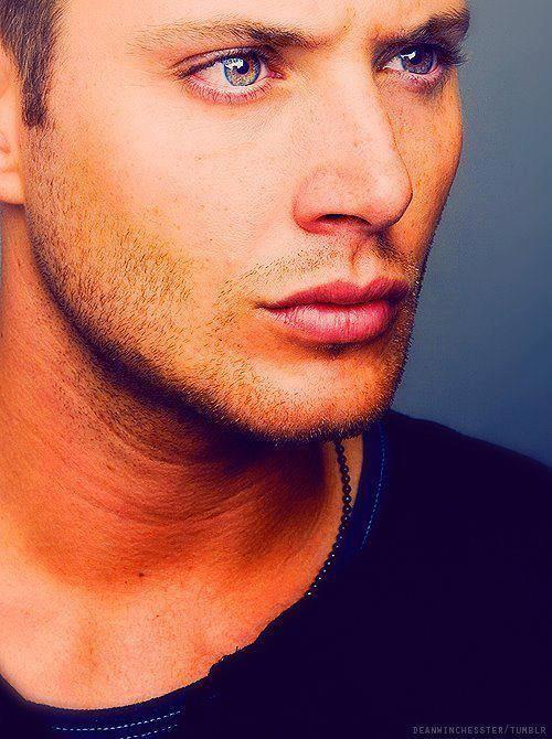 Jensen as Dean Winchester, Wow!