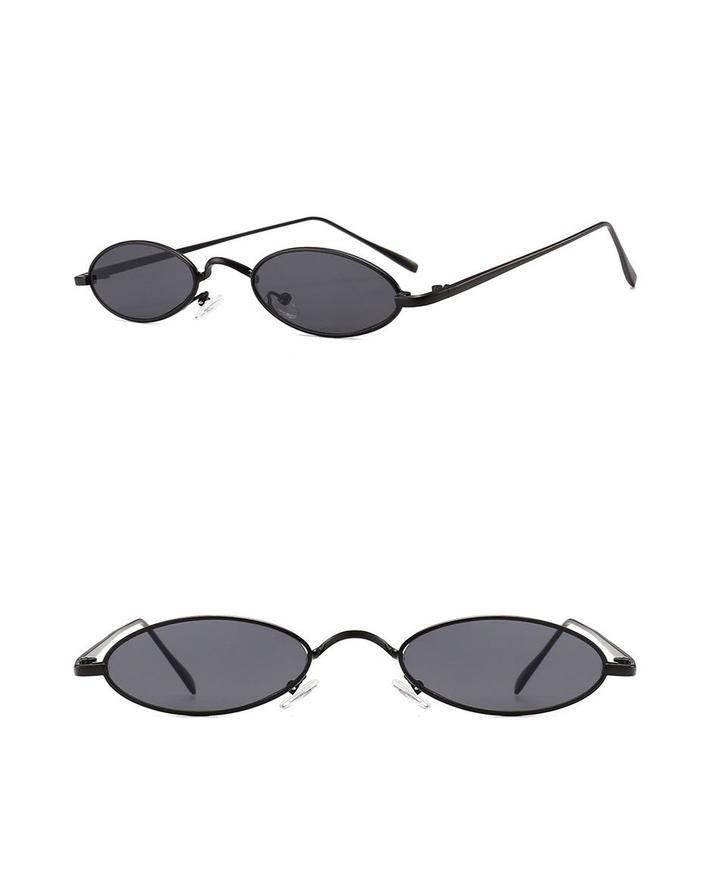 9a52b4cf4 Trish - 90's Inspires Oval Sunglasses - taylormadison.store Óculos De Sol  Oval, Compras