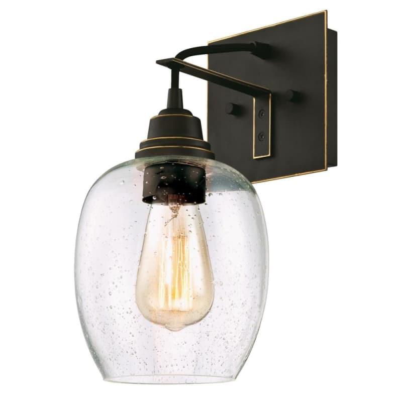 Westinghouse 6333200 Eldon Single Light 6 1 4 Wide Bathroom Sconce