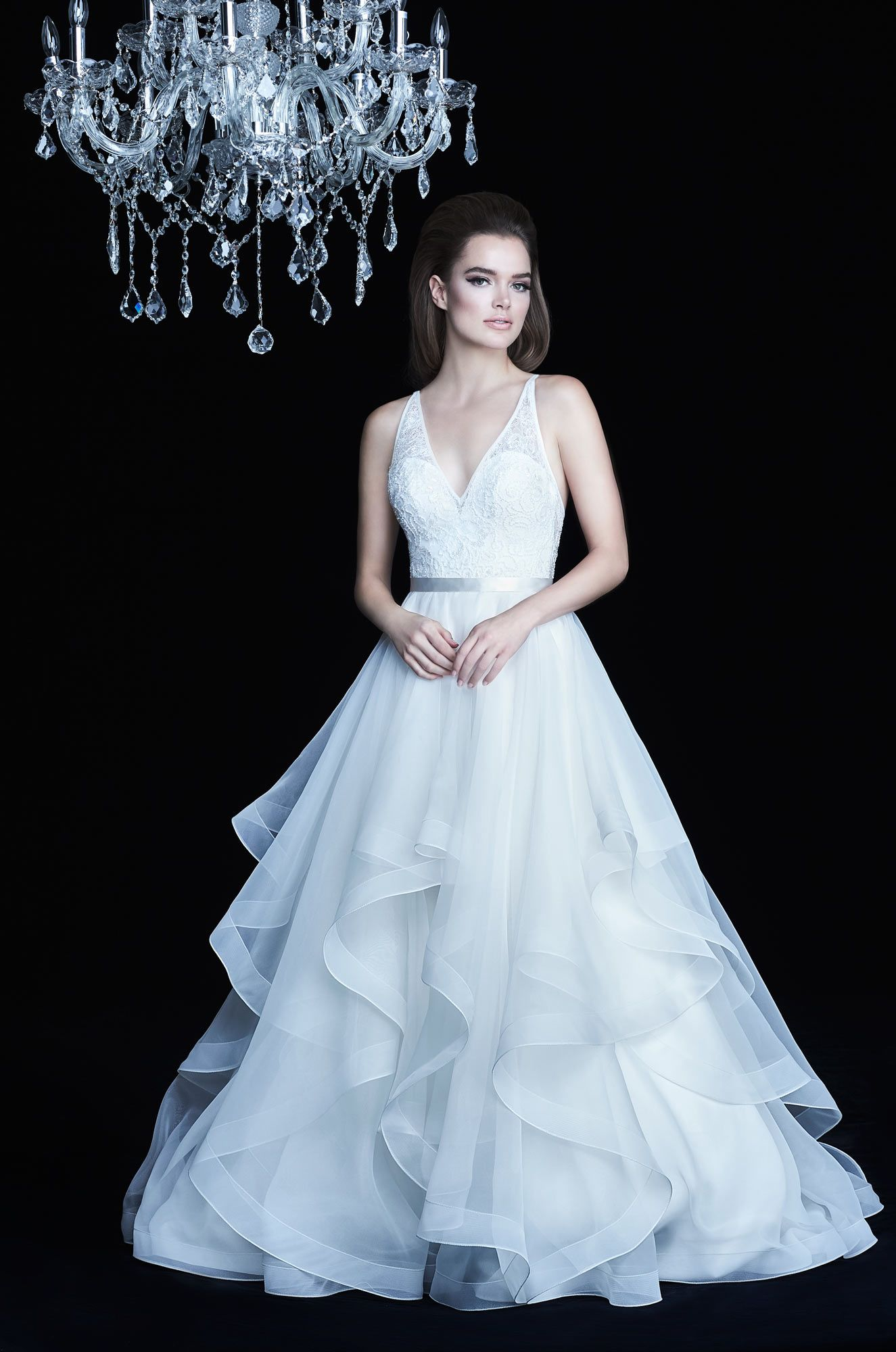 Low vneck wedding dress style wedding pinterest